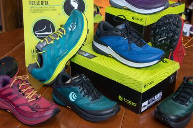 Passion Sport Torino - scarpe topo per trail running - suola in vibram megagrip